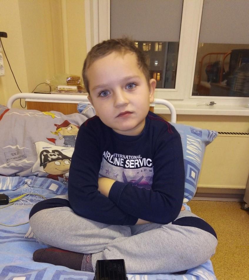 Золин Степан, 8 лет, г. Серебряные Пруды, диагноз – структурная фокальная эпилепсия
