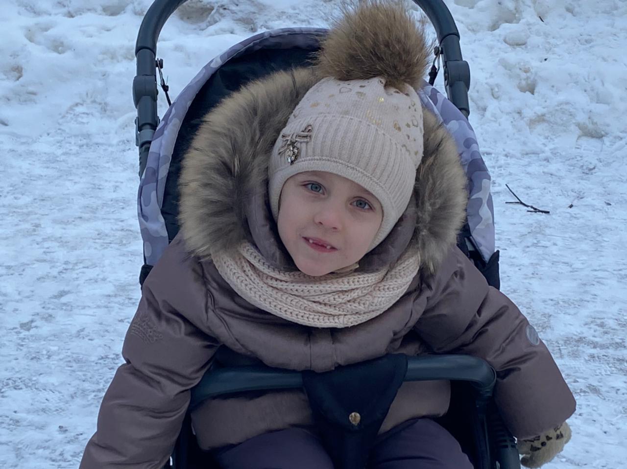 Косицына Валерия Михайловна, 17.09.2014 года рождения, 6лет, г.Кашира.